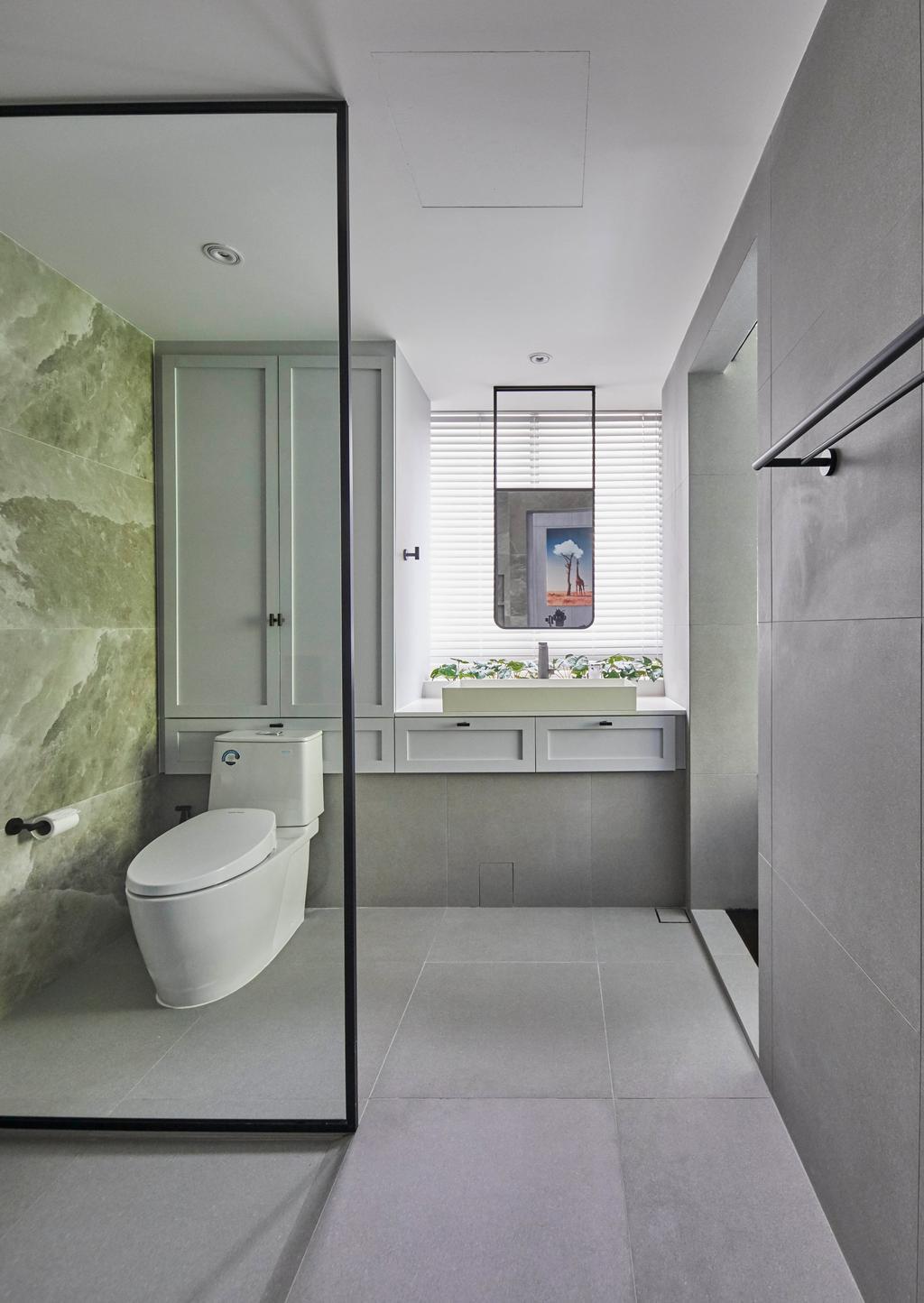 Contemporary, Condo, Bathroom, Le Merritt, Interior Designer, The Interior Lab