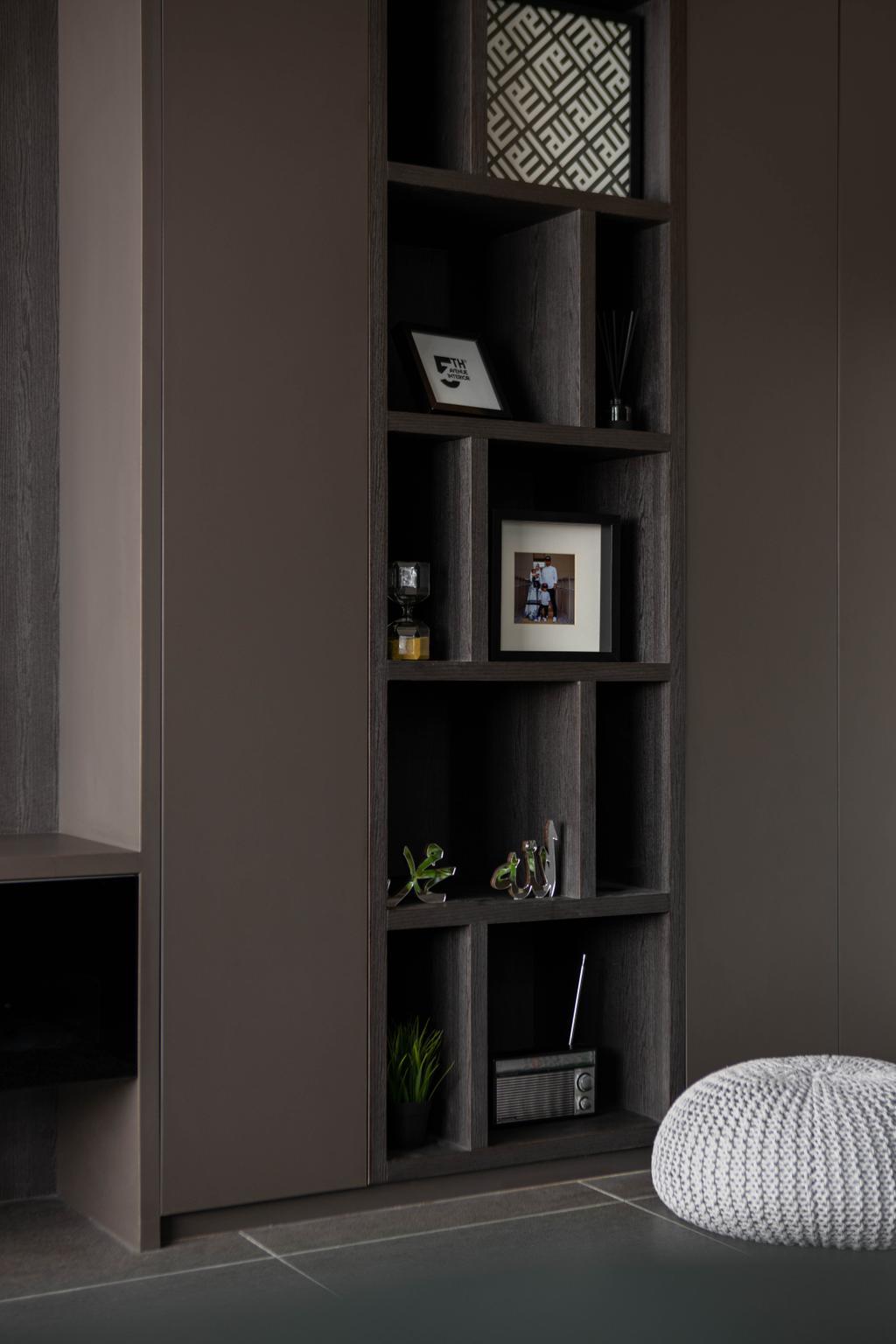Modern, HDB, Living Room, Tampines Avenue 5, Interior Designer, Fifth Avenue Interior, Industrial