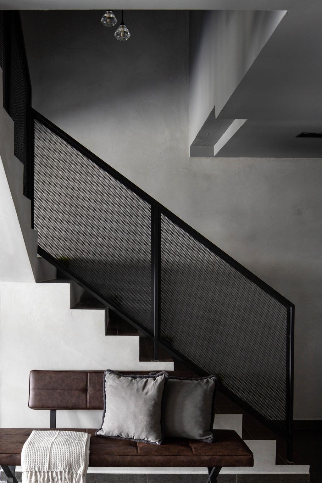 Modern, HDB, Tampines Avenue 5, Interior Designer, Fifth Avenue Interior, Industrial