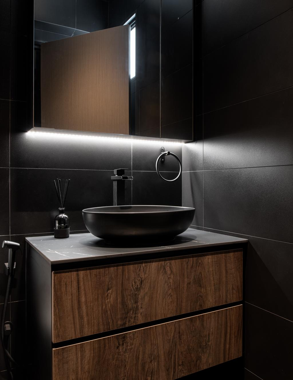 Contemporary, HDB, Bathroom, Yishun Ring Road, Interior Designer, The Local Project