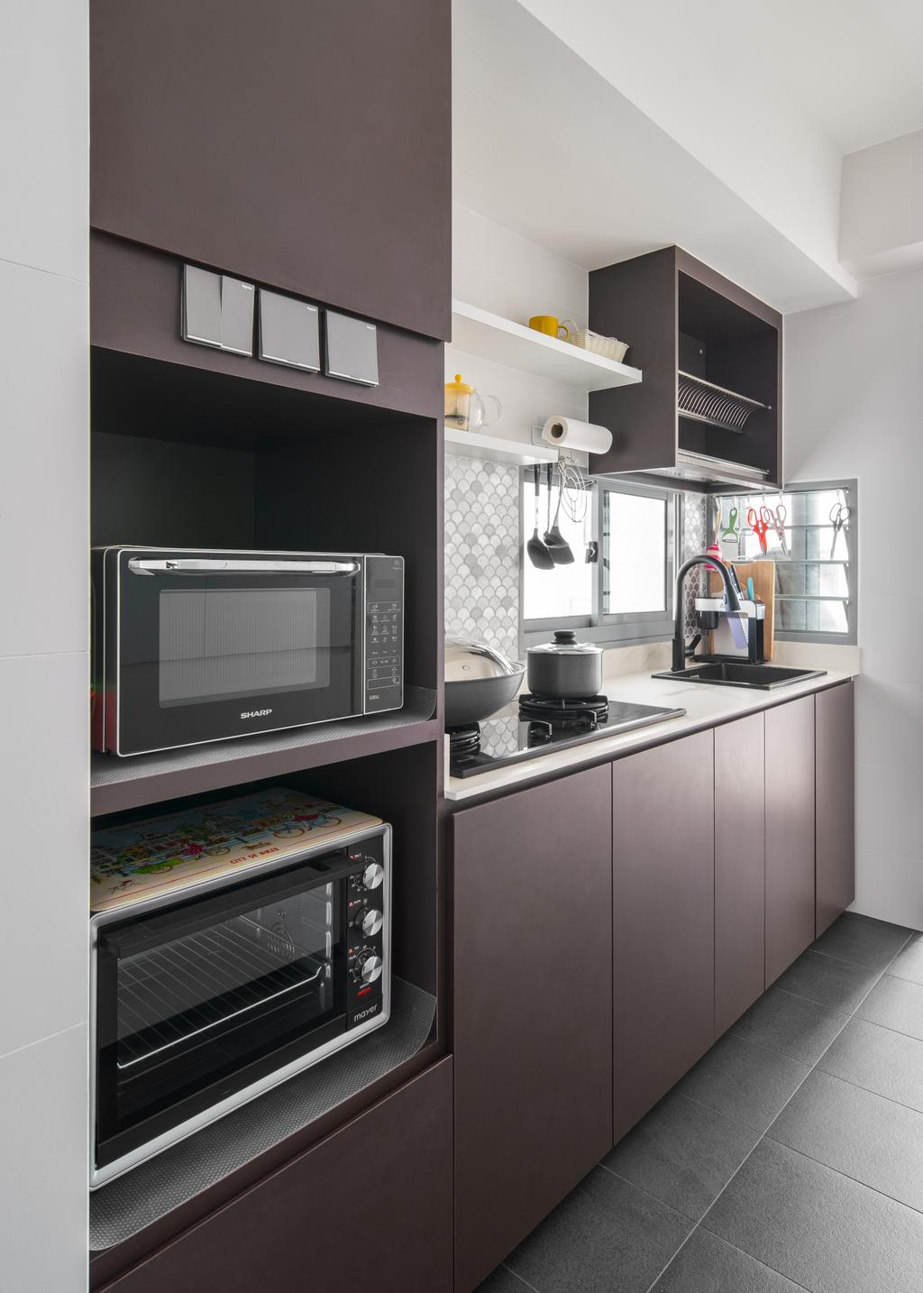 Contemporary, HDB, Boon Keng Road, Interior Designer, The Local Project
