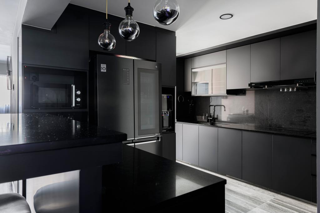 Contemporary, HDB, Kitchen, Jurong West Street 42, Interior Designer, The Local Project