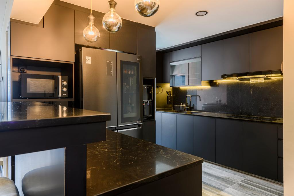 Contemporary, HDB, Jurong West Street 42, Interior Designer, The Local Project