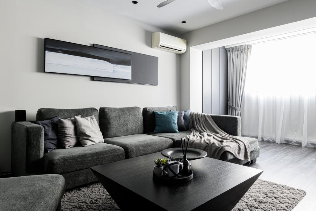 Contemporary, HDB, Living Room, Jurong West Street 42, Interior Designer, The Local Project