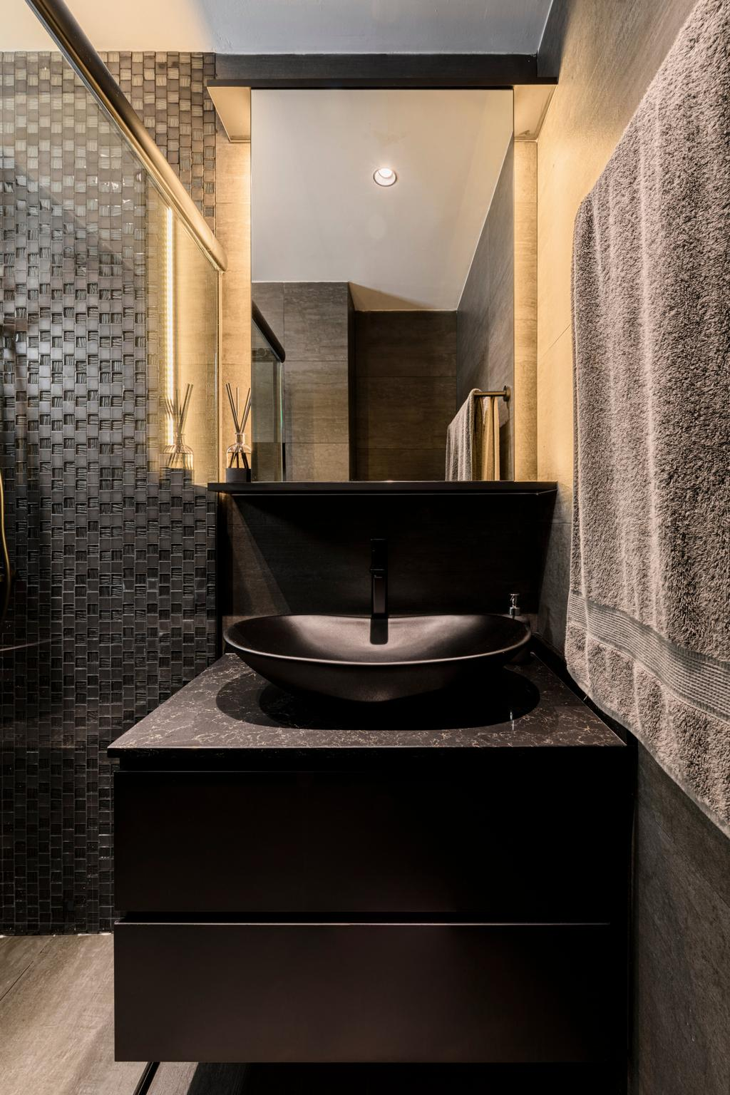 Contemporary, HDB, Bathroom, Jurong West Street 42, Interior Designer, The Local Project