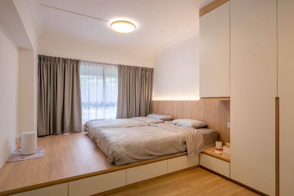 Scandinavian, HDB, Bedroom, Bukit Batok Street 25, Interior Designer, Design 4 Space