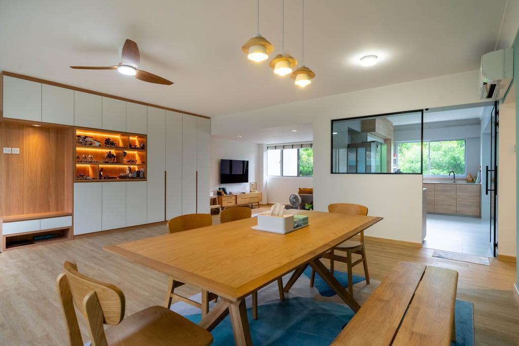 Scandinavian, HDB, Living Room, Bukit Batok Street 25, Interior Designer, Design 4 Space