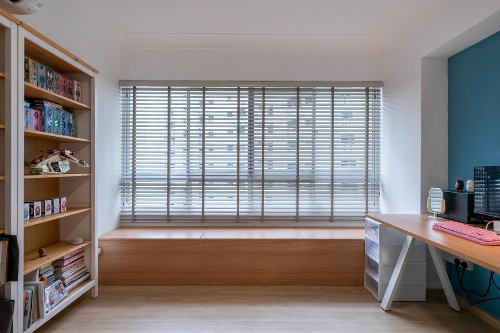Scandinavian, HDB, Study, Bukit Batok Street 25, Interior Designer, Design 4 Space