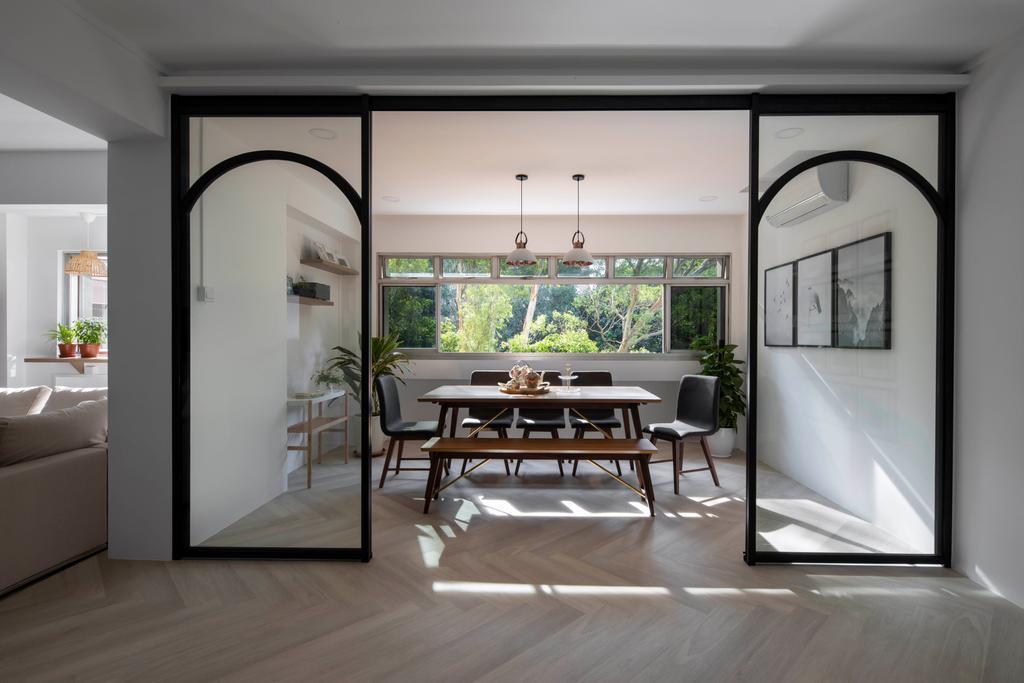 Scandinavian, HDB, Balcony, Pasir Ris Street 71, Interior Designer, Lemonfridge Studio