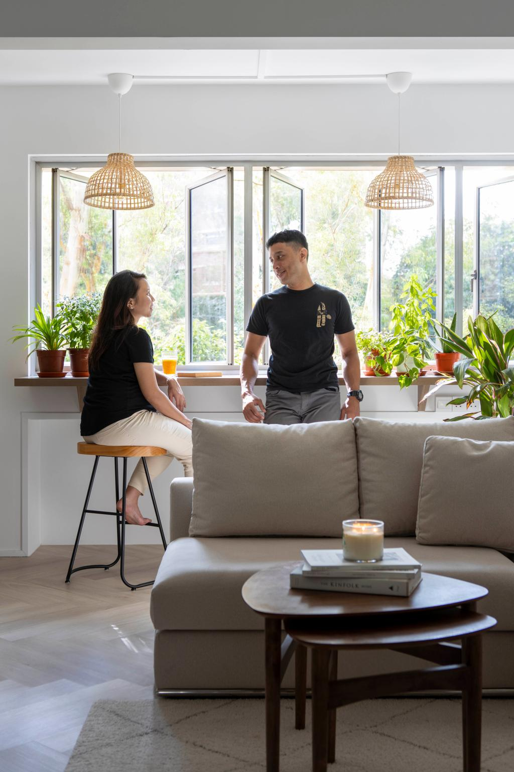 Scandinavian, HDB, Living Room, Pasir Ris Street 71, Interior Designer, Lemonfridge Studio