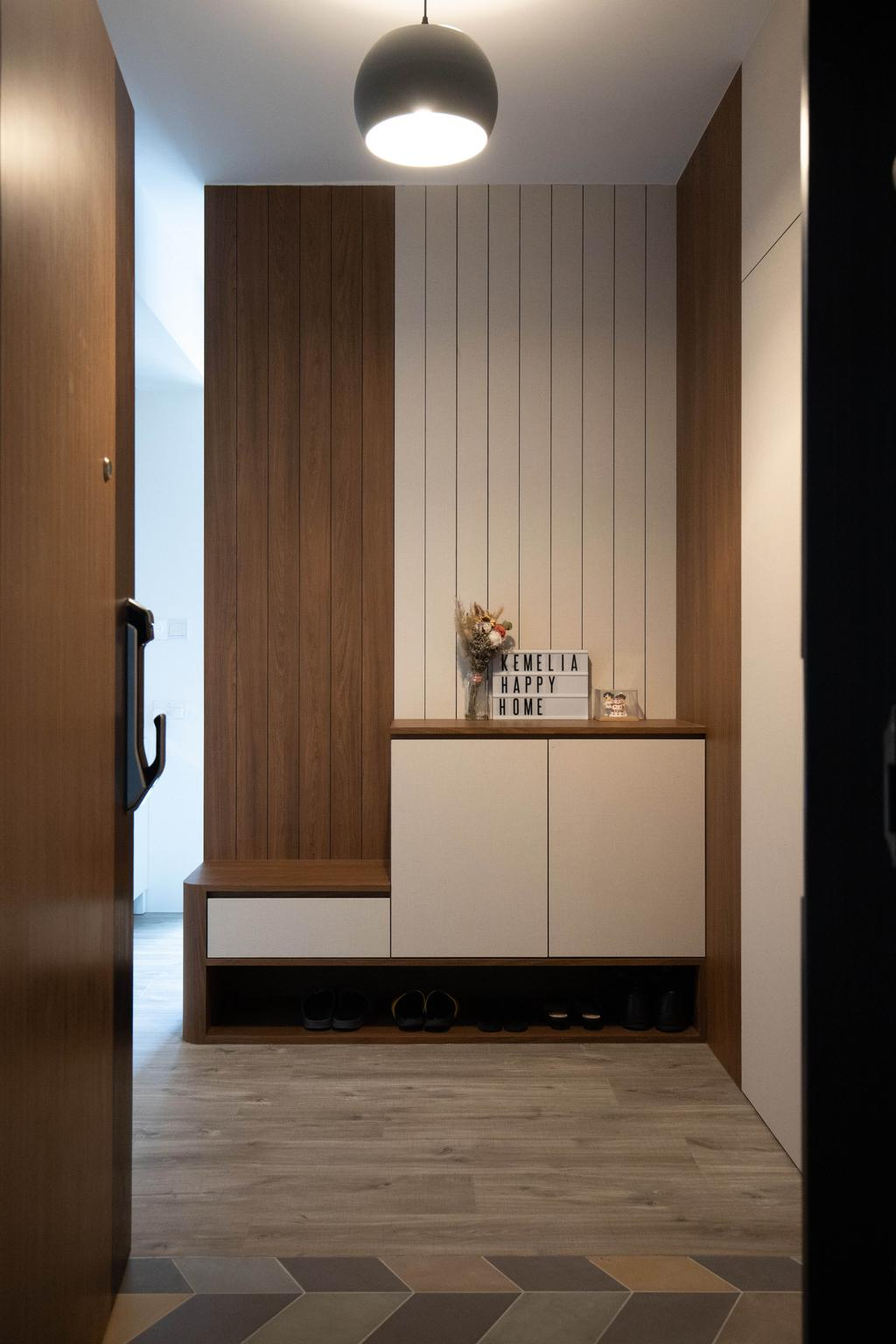 Contemporary, HDB, Living Room, Ang Mo Kio Street 23, Interior Designer, Forefront Interior, Scandinavian