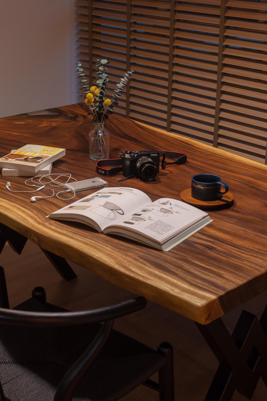 Contemporary, HDB, Dining Room, Punggol Drive, Interior Designer, A Blue Cube Design, Scandinavian
