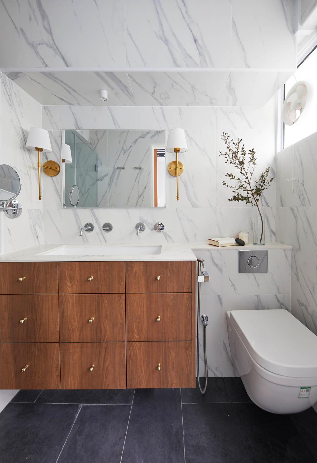 Scandinavian, HDB, Bathroom, Serangoon Avenue 1, Interior Designer, The Interior Lab