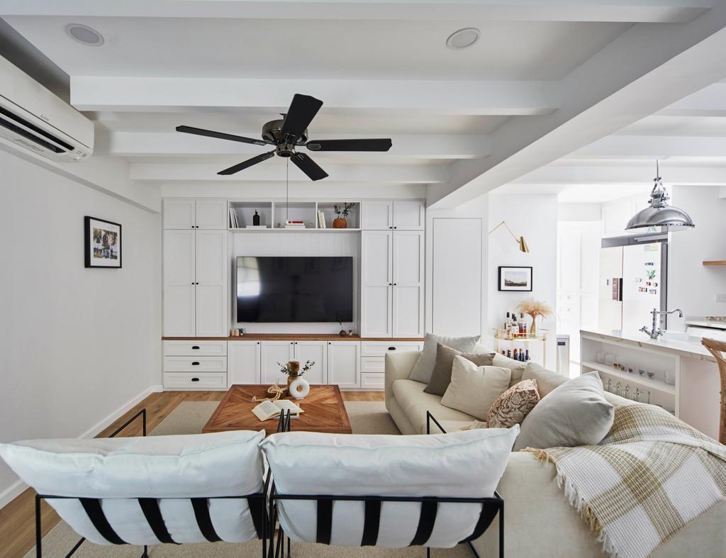 Scandinavian, HDB, Living Room, Serangoon Avenue 1, Interior Designer, The Interior Lab