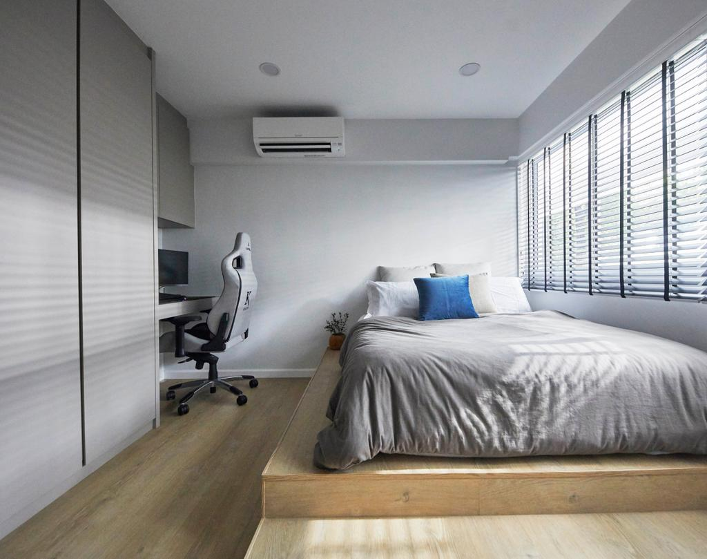 Scandinavian, HDB, Bedroom, Serangoon Avenue 1, Interior Designer, The Interior Lab
