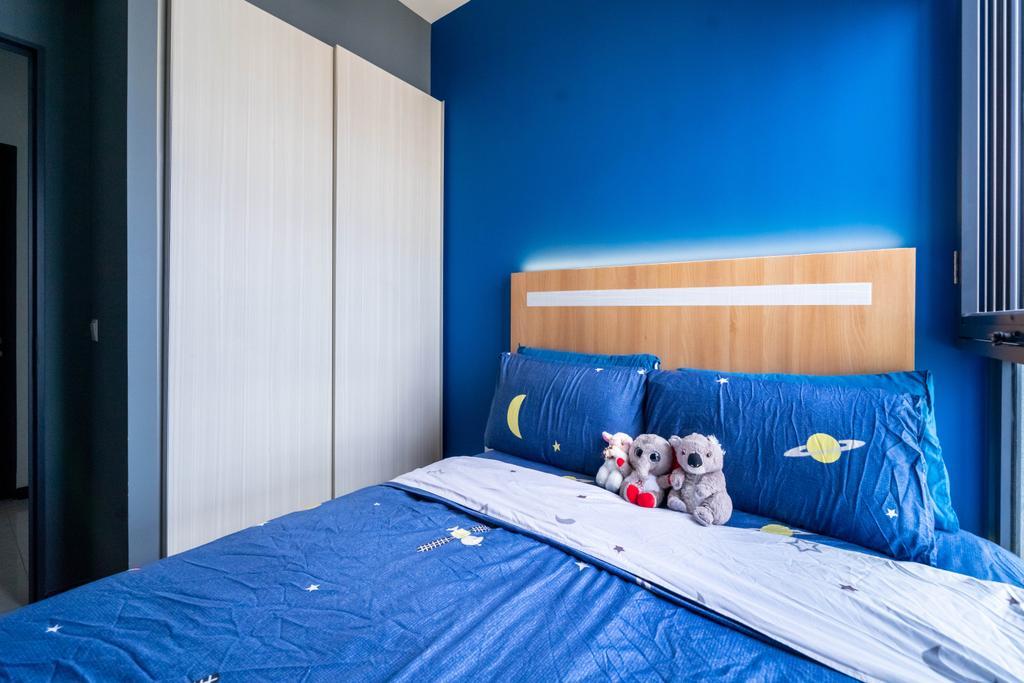 Contemporary, Condo, Bedroom, Gem Residences, Interior Designer, Design 4 Space