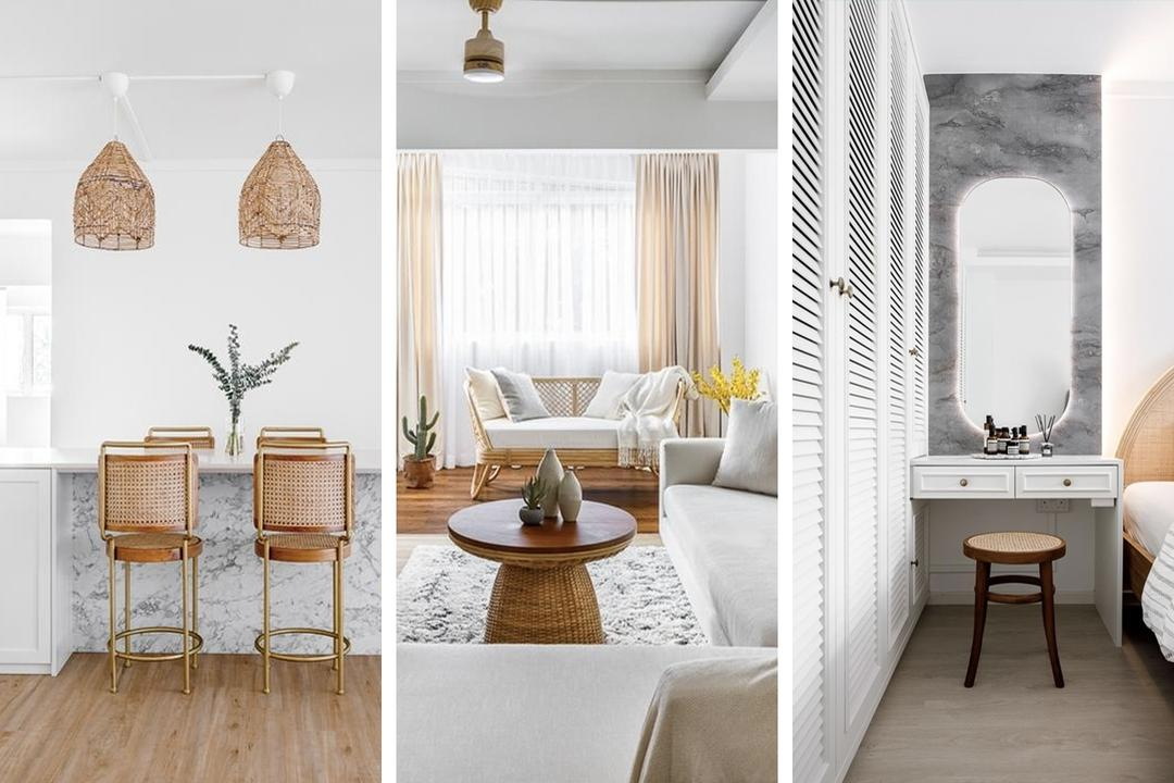 Jurong Point Block HDB Flat is Now Couple's Soothing Getaway