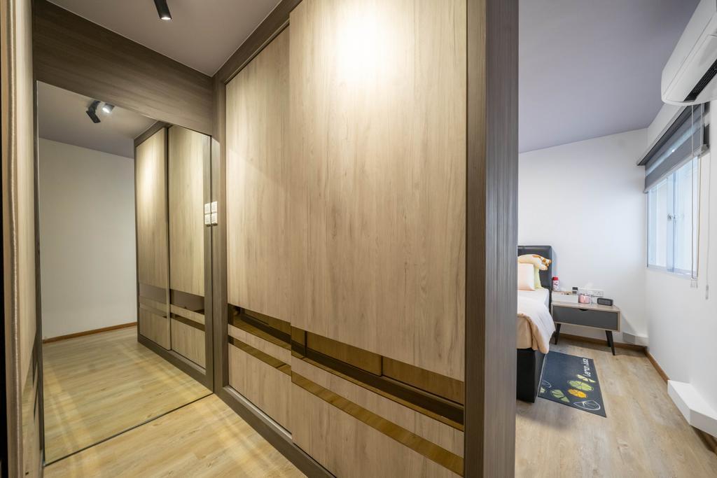 Contemporary, HDB, Bedroom, Anchorvale Link, Interior Designer, Design 4 Space, Scandinavian