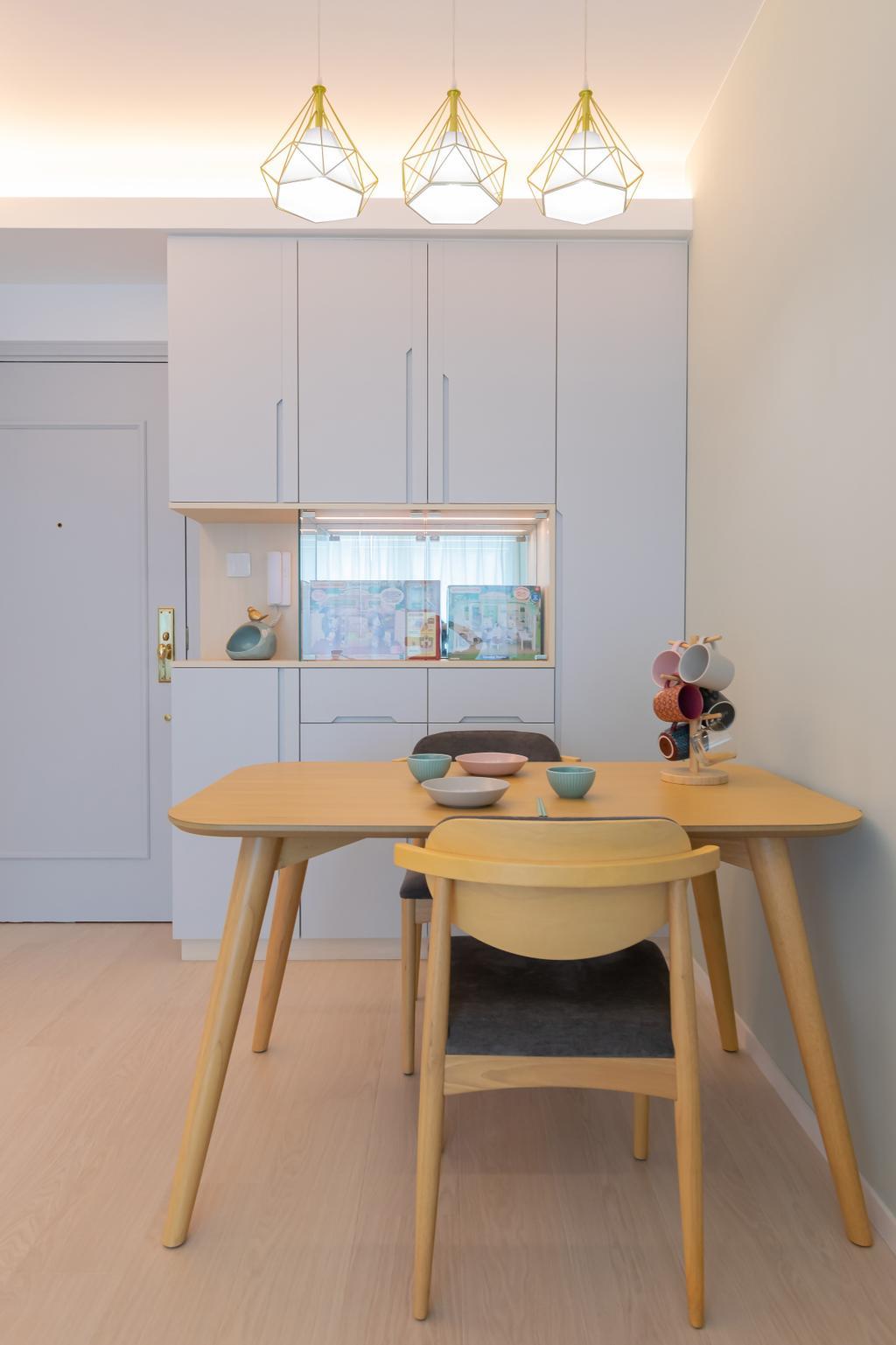 摩登, 私家樓, 飯廳, 都會駅, 室內設計師, 現時設計, 簡約