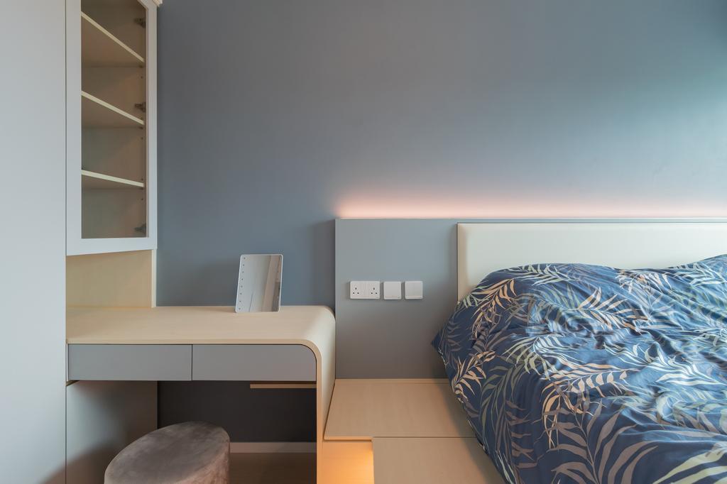 摩登, 私家樓, 睡房, 都會駅, 室內設計師, 現時設計, 簡約