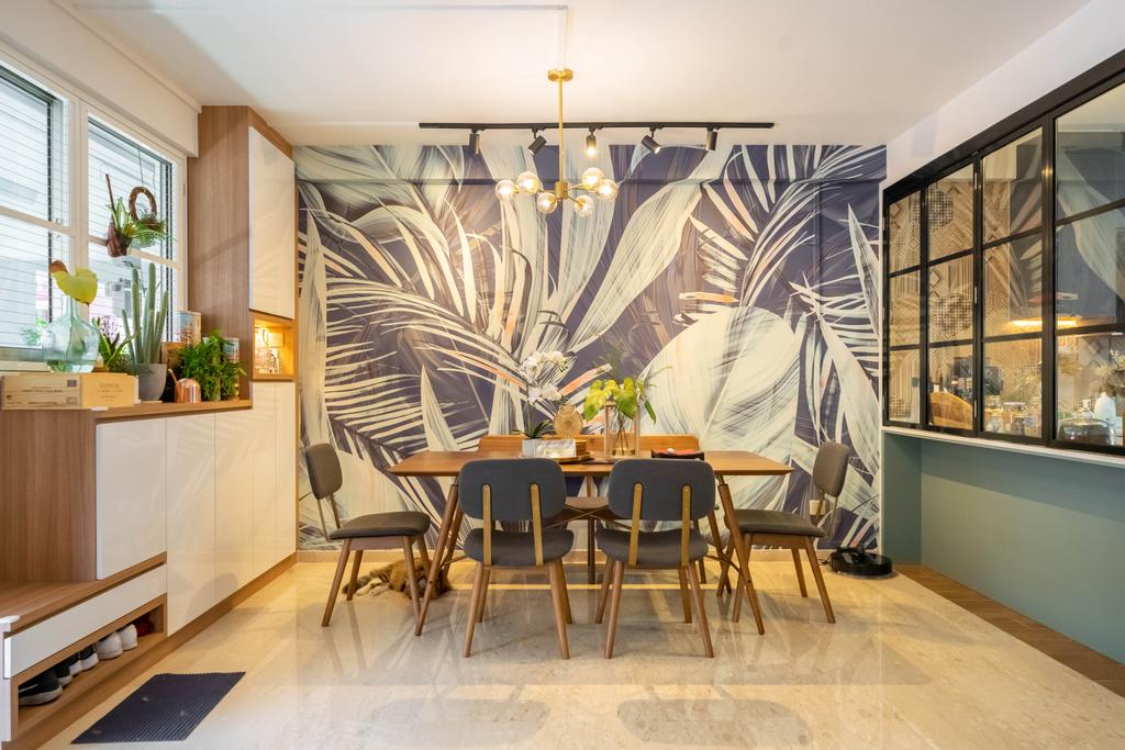 Contemporary, HDB, Dining Room, Toh Yi Gardens, Interior Designer, Dots 'N' Tots