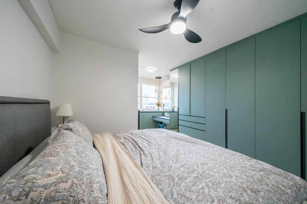 Contemporary, HDB, Bedroom, Toh Yi Gardens, Interior Designer, Dots 'N' Tots