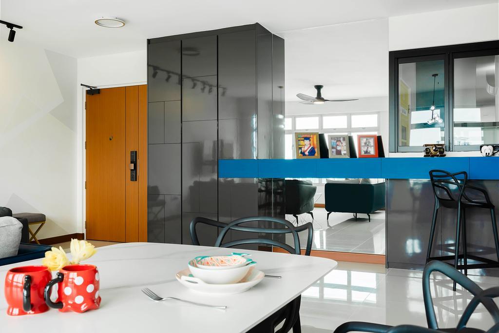 Contemporary, HDB, Dining Room, Bukit Batok Street 21, Interior Designer, Great Oasis Interior Design