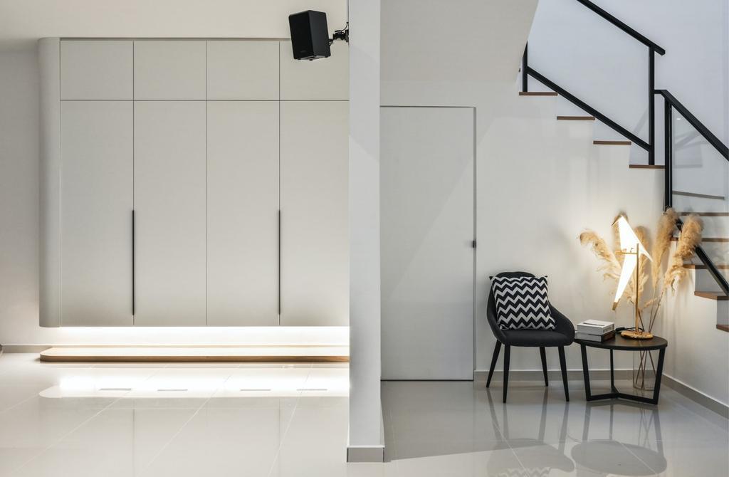 Modern, Landed, Taman Maluri, Kuala Lumpur, Interior Designer, RK Interior Studio, Minimalist