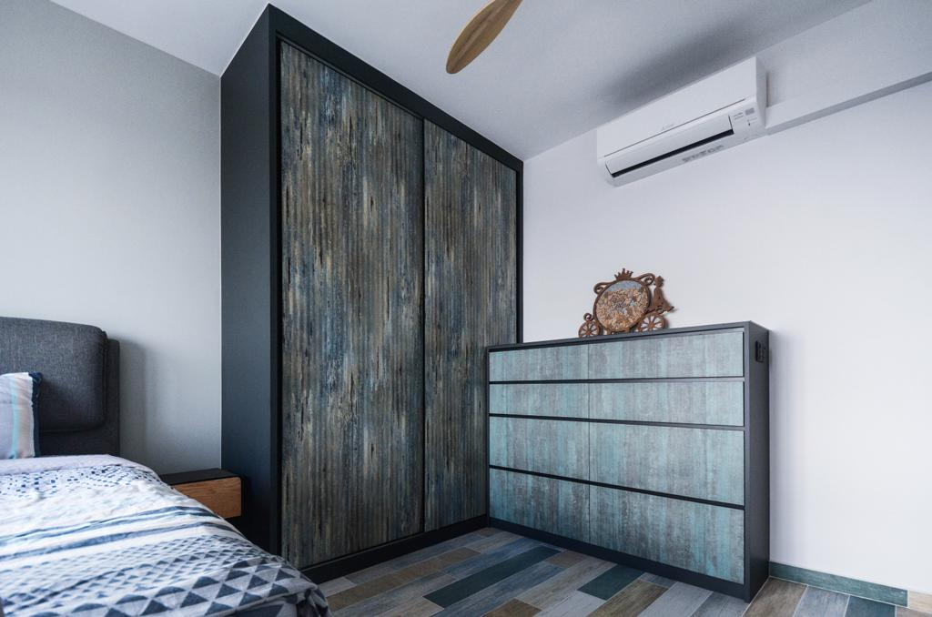 Contemporary, HDB, Bedroom, Clementi Crescent, Interior Designer, The Roomakers
