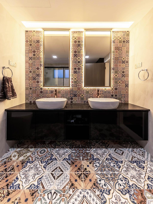 Contemporary, Condo, Bathroom, The Makena, Interior Designer, U-Home Interior Design, Transitional