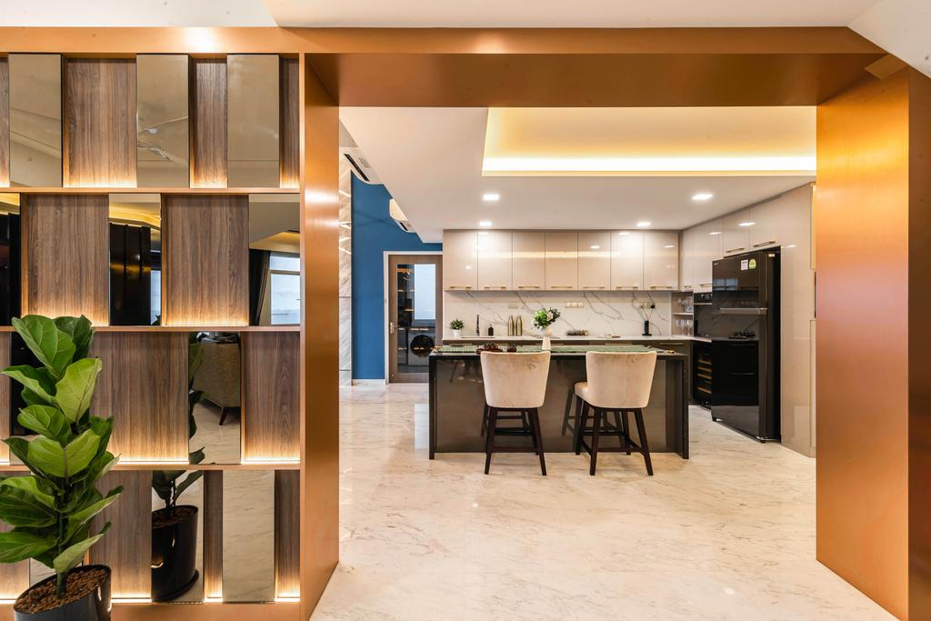 Contemporary, Condo, Kitchen, The Makena, Interior Designer, U-Home Interior Design, Transitional