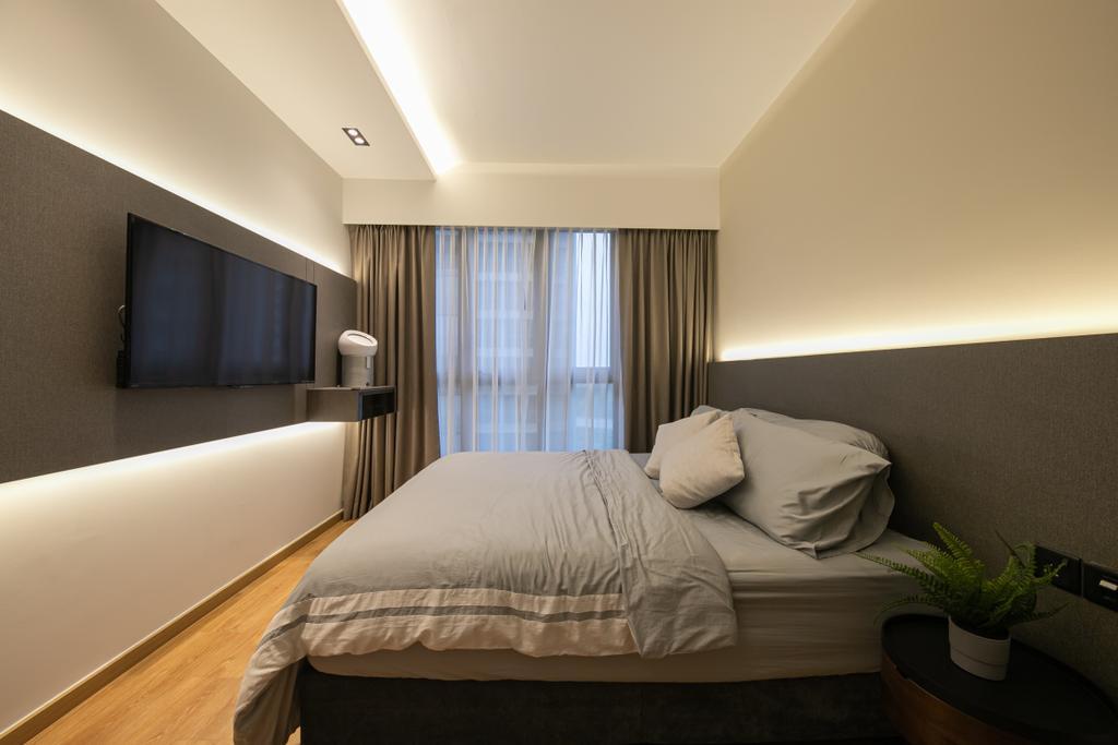 Contemporary, Condo, Bedroom, Rivercove Residences, Interior Designer, Space Atelier