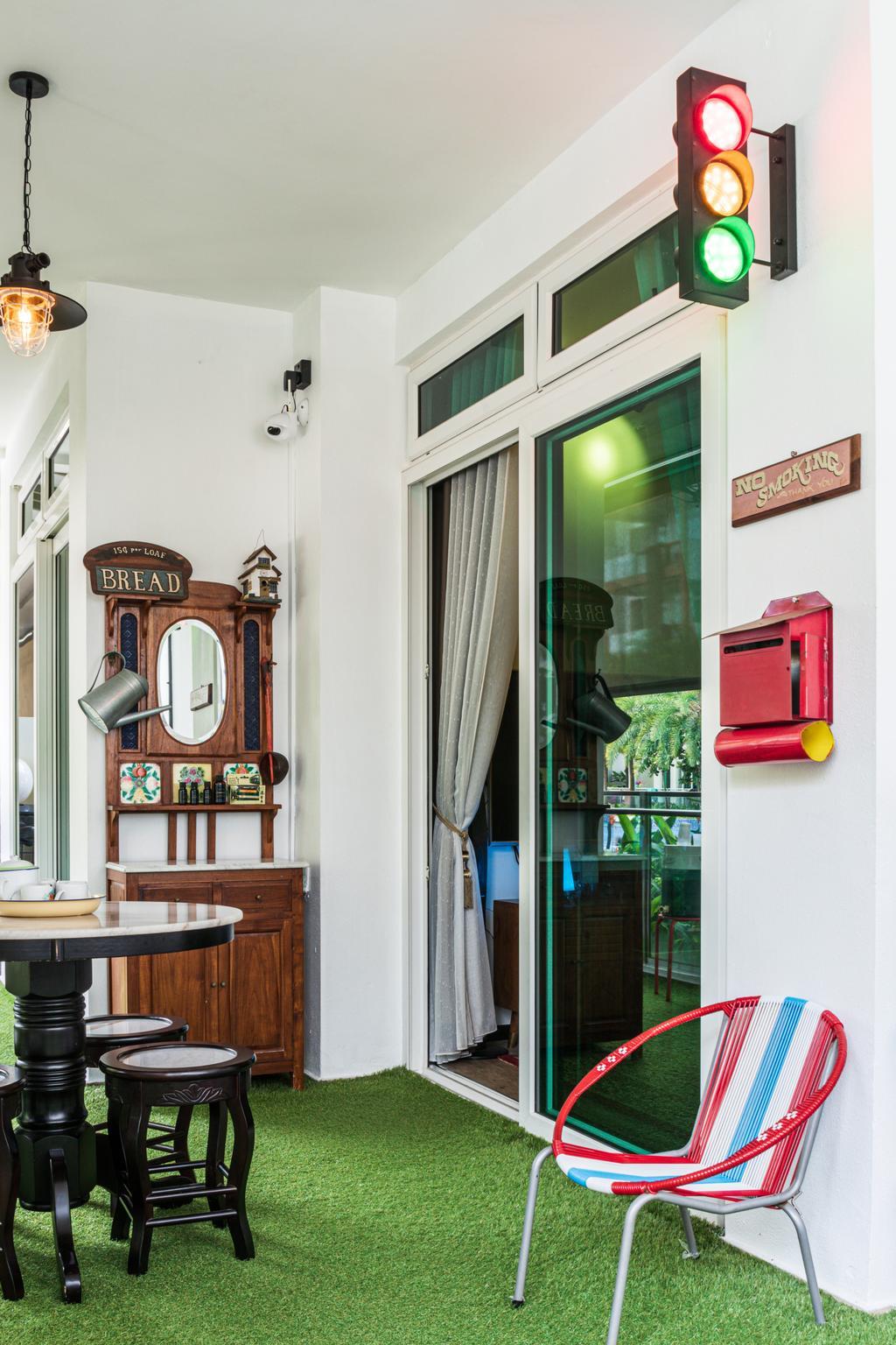 Vintage, Condo, Balcony, Parc Rosewood, Interior Designer, Chapter 3, Contemporary