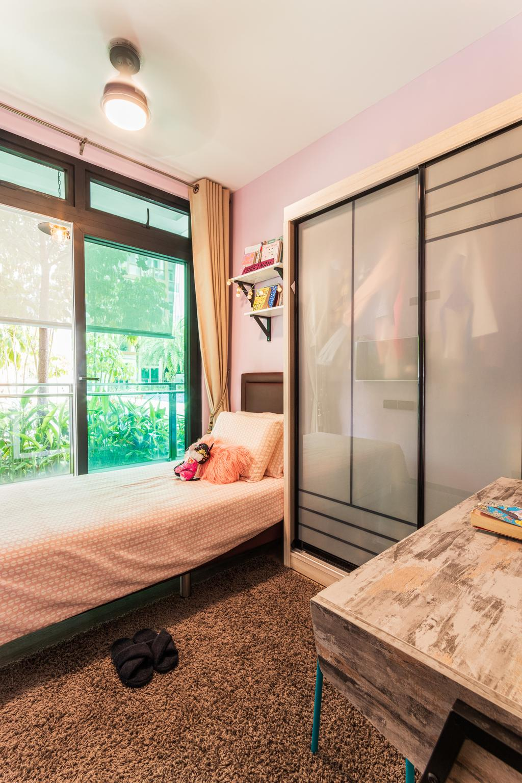 Vintage, Condo, Bedroom, Parc Rosewood, Interior Designer, Chapter 3, Contemporary