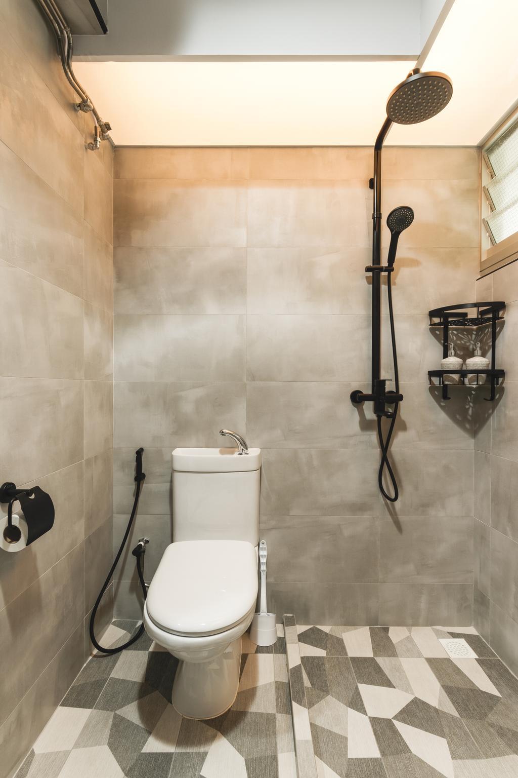 Contemporary, HDB, Bathroom, Bukit Batok West Avenue 5, Interior Designer, Chapter 3
