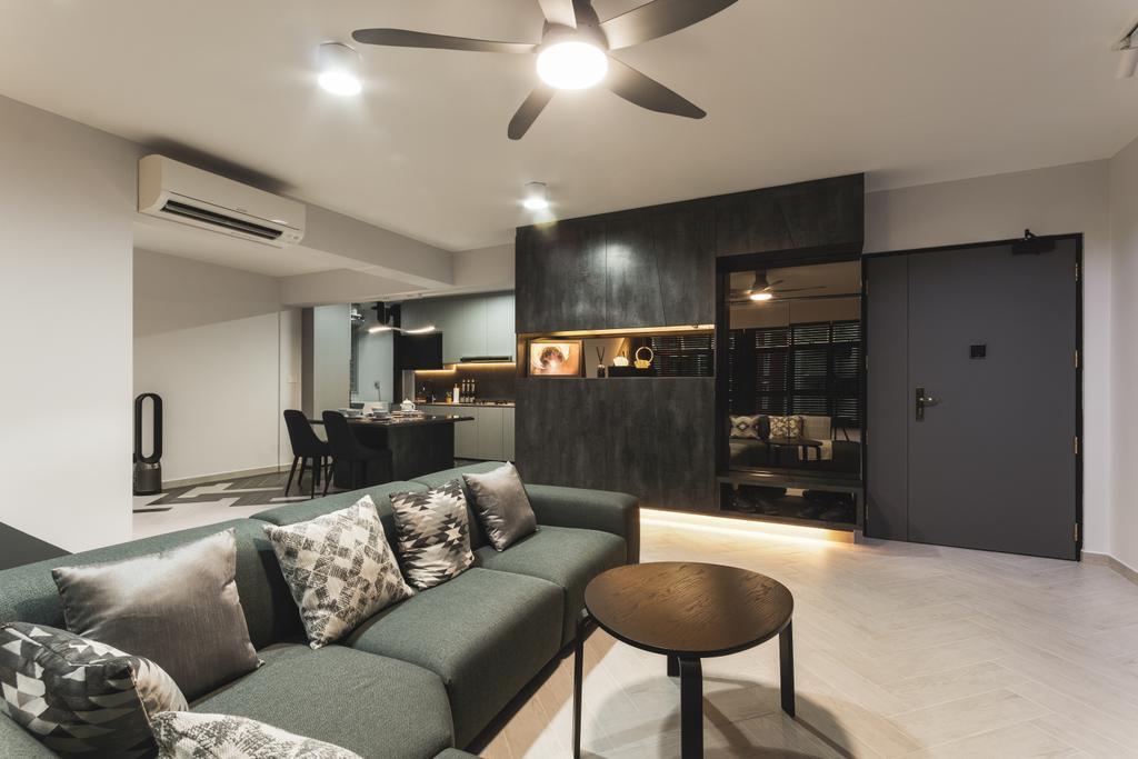 Contemporary, HDB, Living Room, Bukit Batok West Avenue 5, Interior Designer, Chapter 3