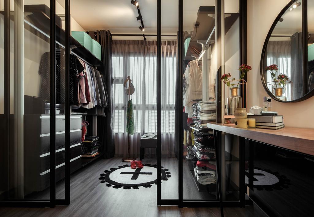 Contemporary, Condo, Bedroom, Lush Acres, Interior Designer, Editor Interior
