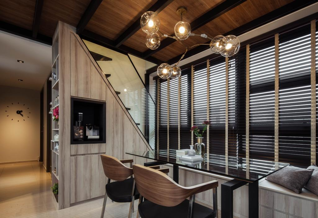 Contemporary, Condo, Dining Room, Lush Acres, Interior Designer, Editor Interior