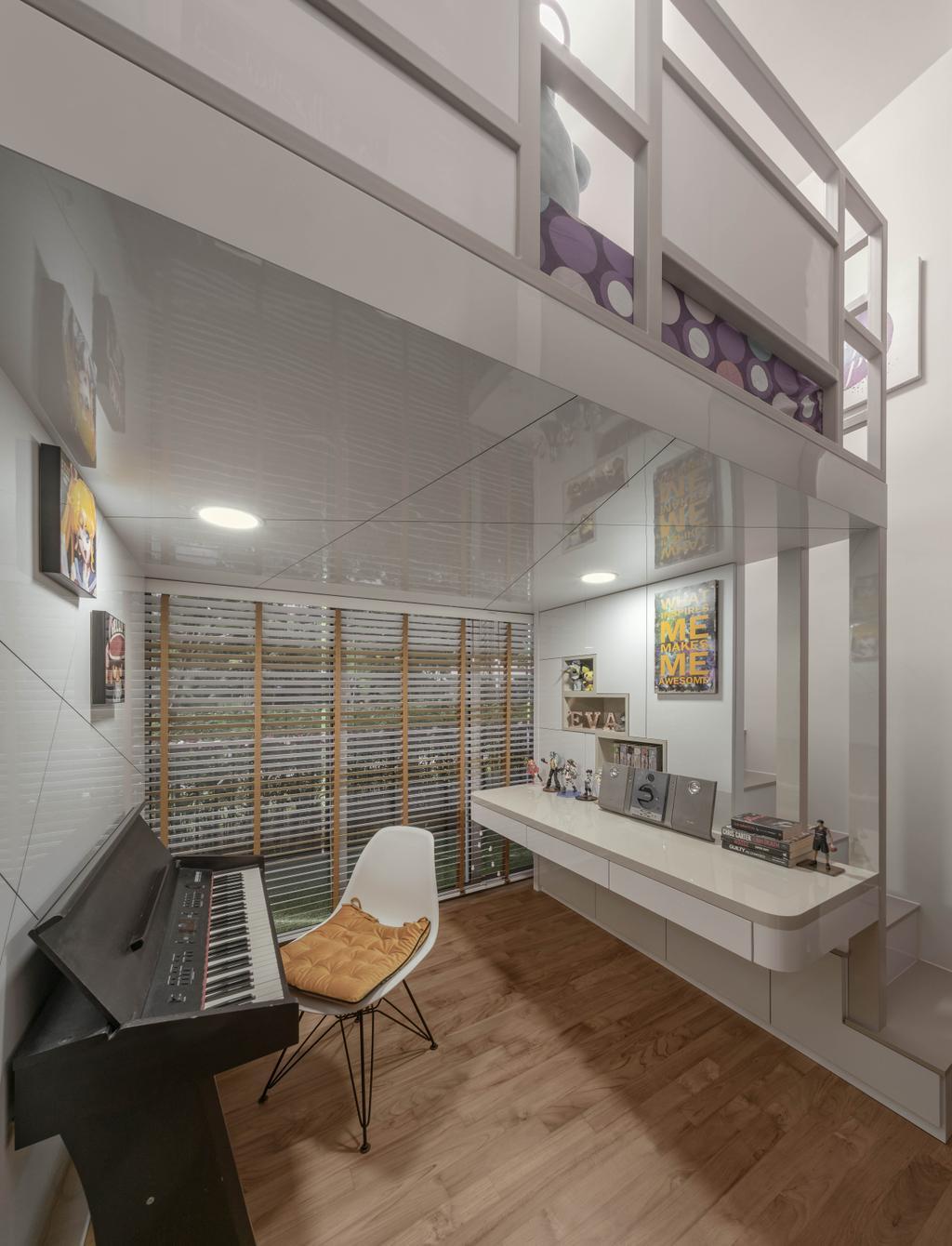 Contemporary, Condo, Bedroom, Rivertrees Residences, Interior Designer, Editor Interior
