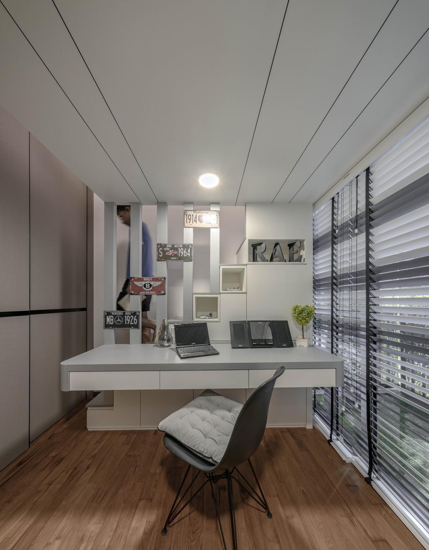 Contemporary, Condo, Study, Rivertrees Residences, Interior Designer, Editor Interior