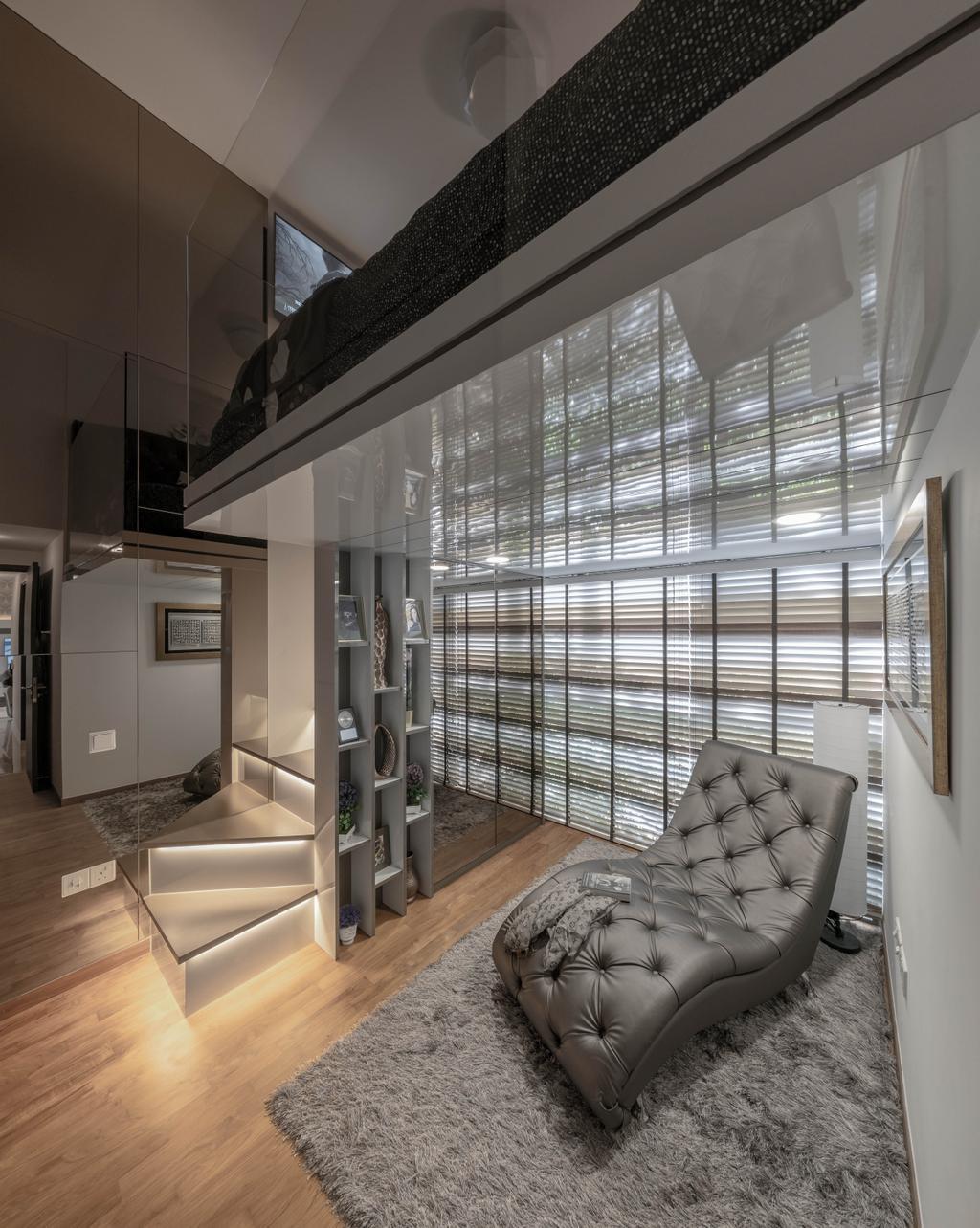 Contemporary, Condo, Living Room, Rivertrees Residences, Interior Designer, Editor Interior