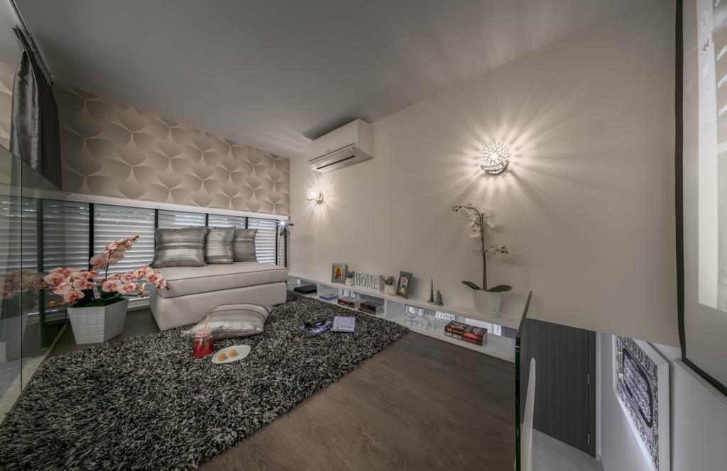 Contemporary, Condo, Rivertrees Residences, Interior Designer, Editor Interior