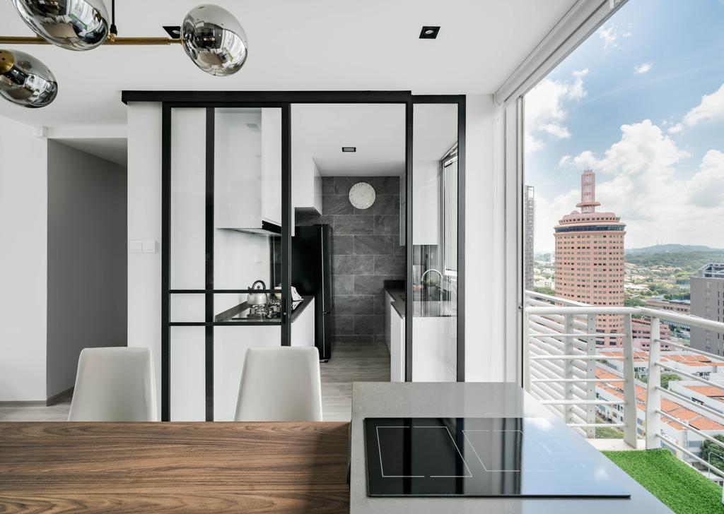 Minimalist, Condo, Kitchen, Strata, Interior Designer, Editor Interior, Contemporary