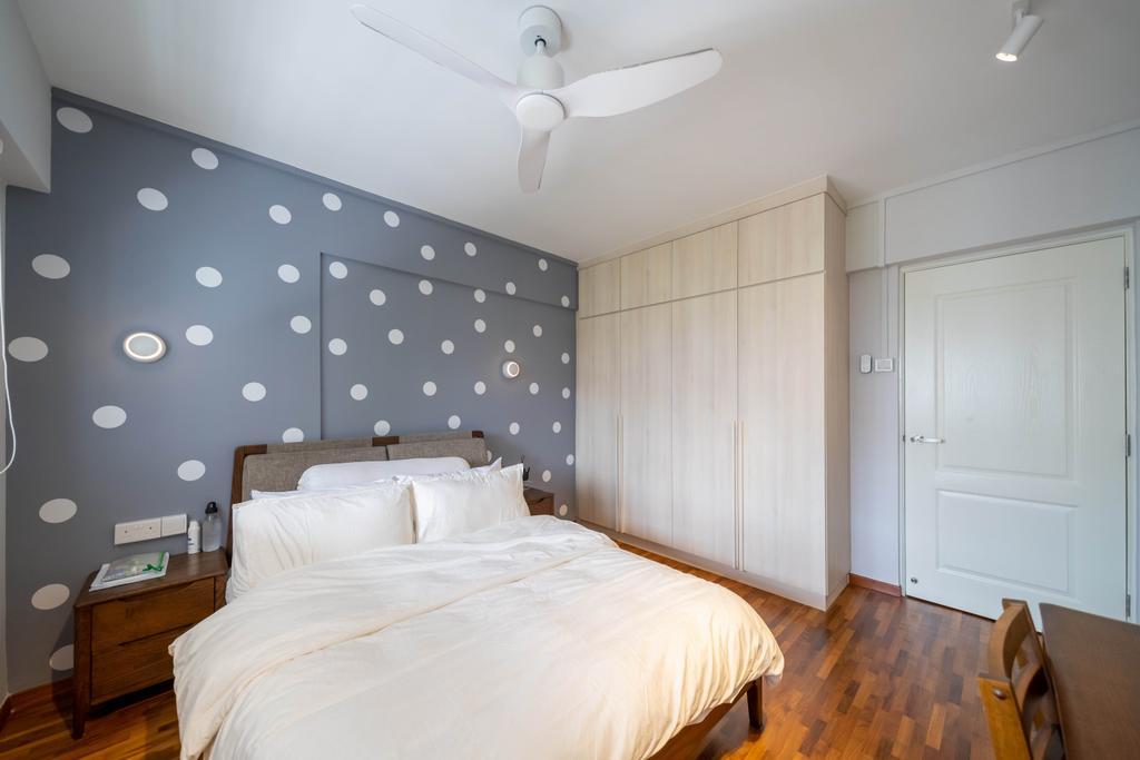 Scandinavian, HDB, Bedroom, Yishun Street 61, Interior Designer, Design 4 Space