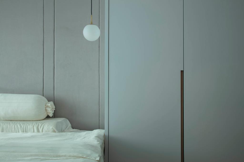 Scandinavian, HDB, Bedroom, Anchorvale Lane, Interior Designer, ECasa Studio