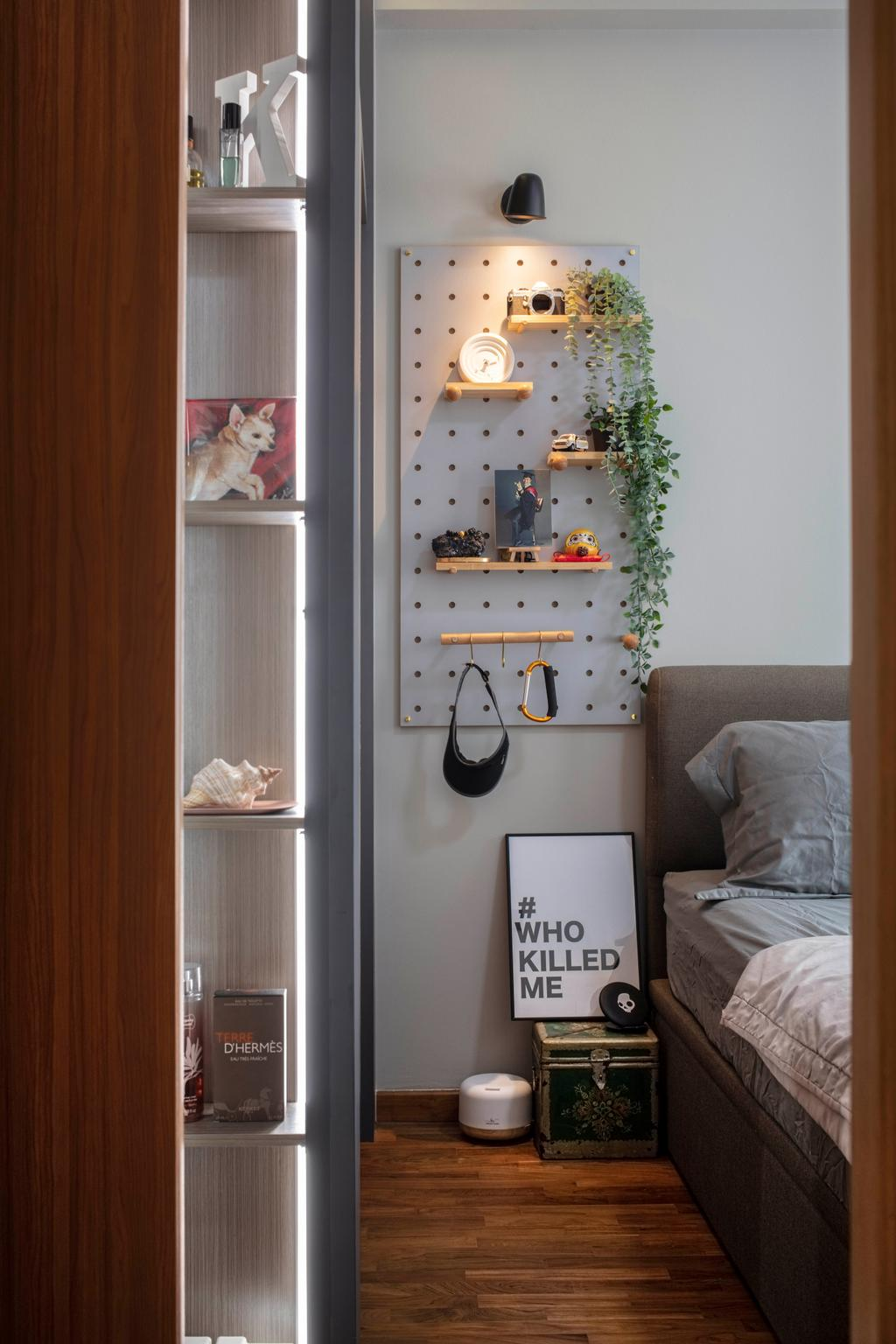 Contemporary, Condo, Bedroom, Atrium Residences, Interior Designer, ECasa Studio