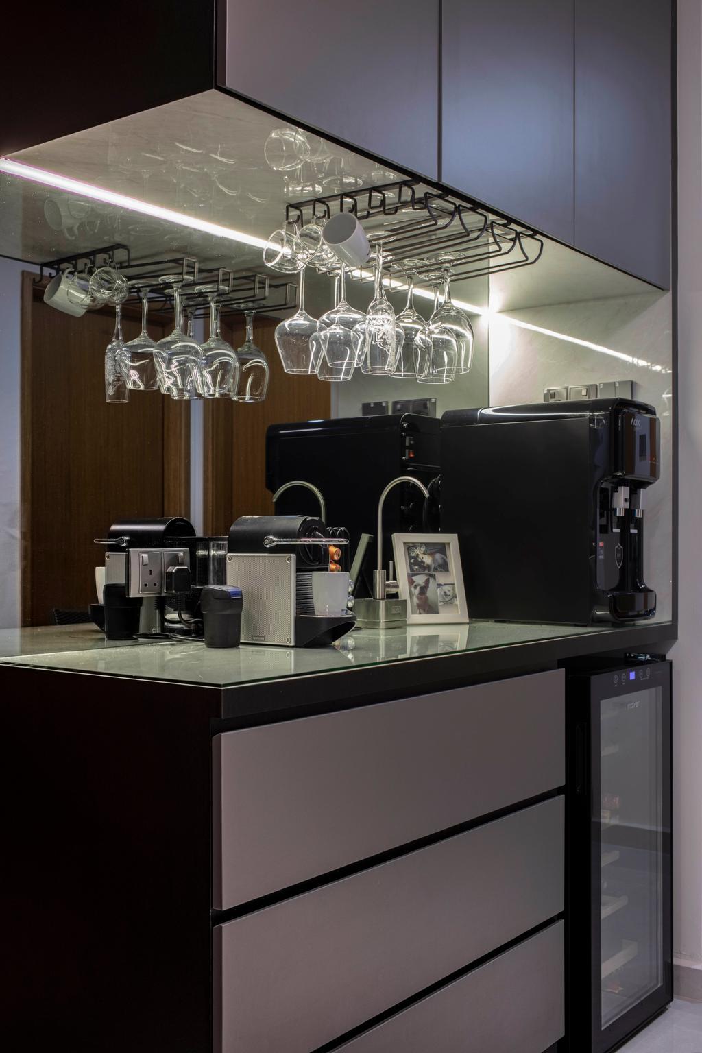 Contemporary, Condo, Kitchen, Atrium Residences, Interior Designer, ECasa Studio