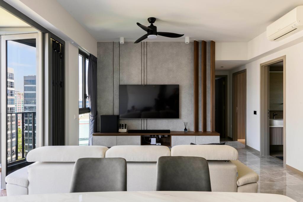 Contemporary, Condo, Living Room, Northwave, Interior Designer, 13th Design Studio