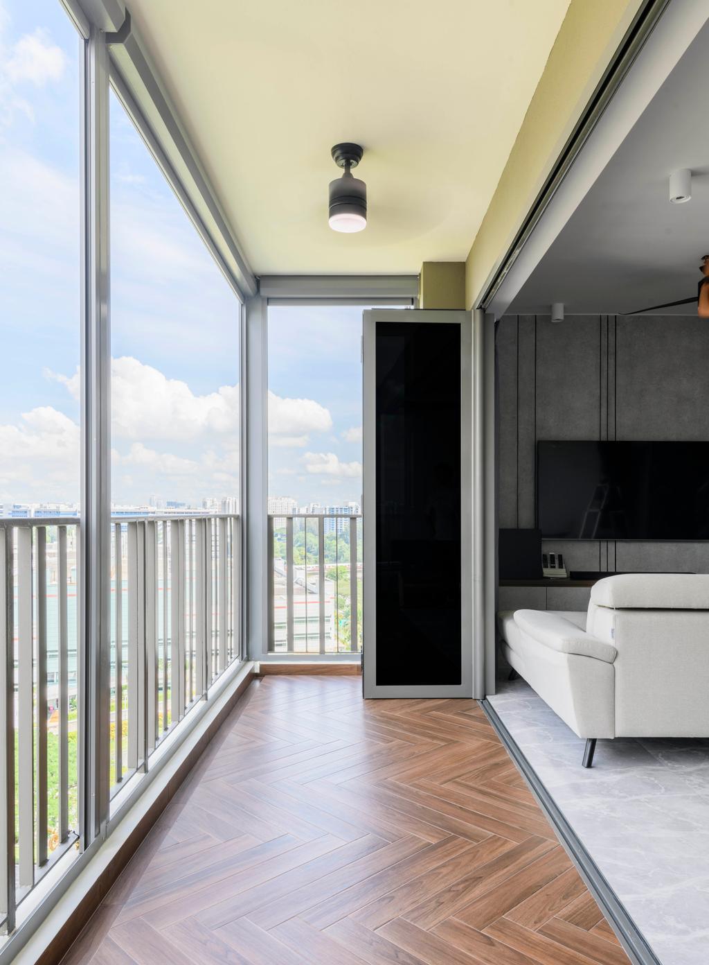 Contemporary, Condo, Balcony, Northwave, Interior Designer, 13th Design Studio