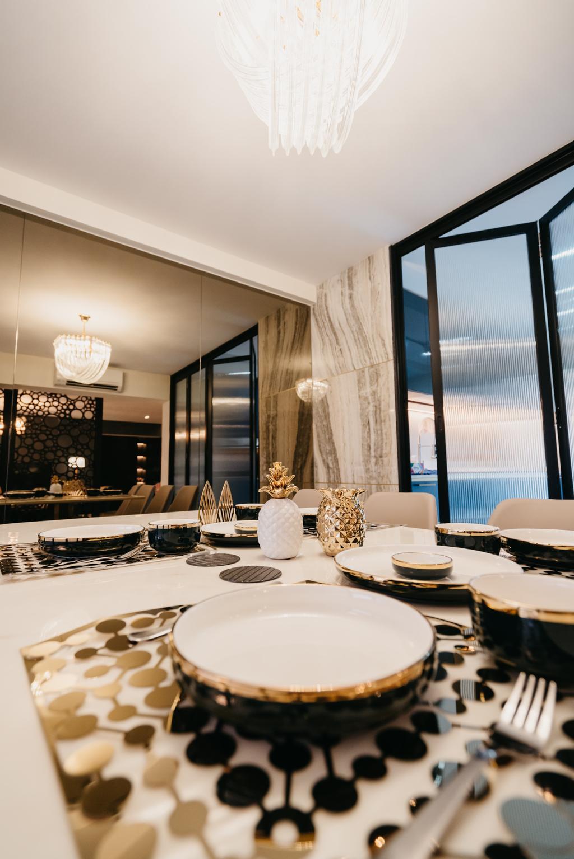 Contemporary, HDB, Dining Room, Tampines Street 82, Interior Designer, OTTOTTO